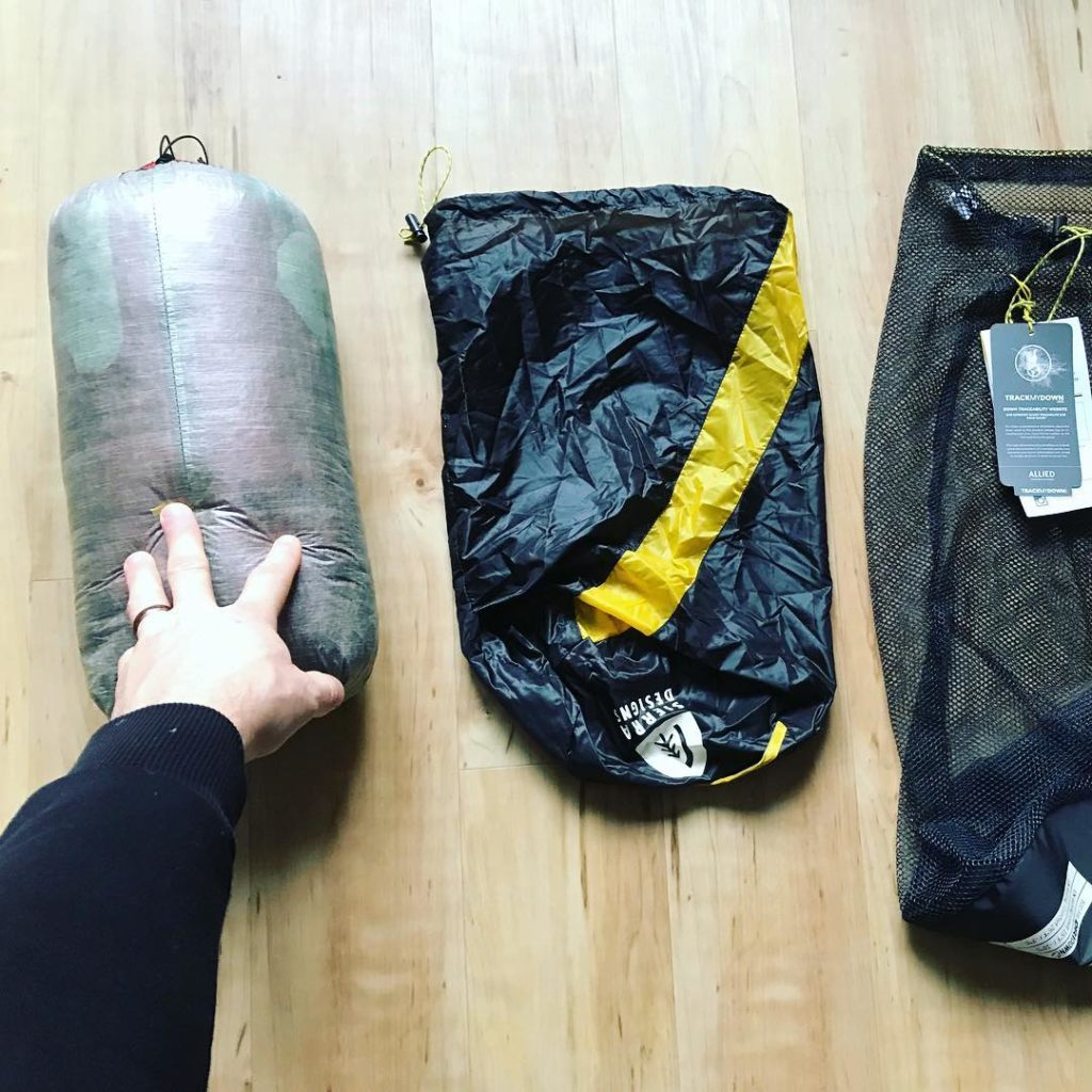 sleeping bag pack from royal_pacific_trade_exped