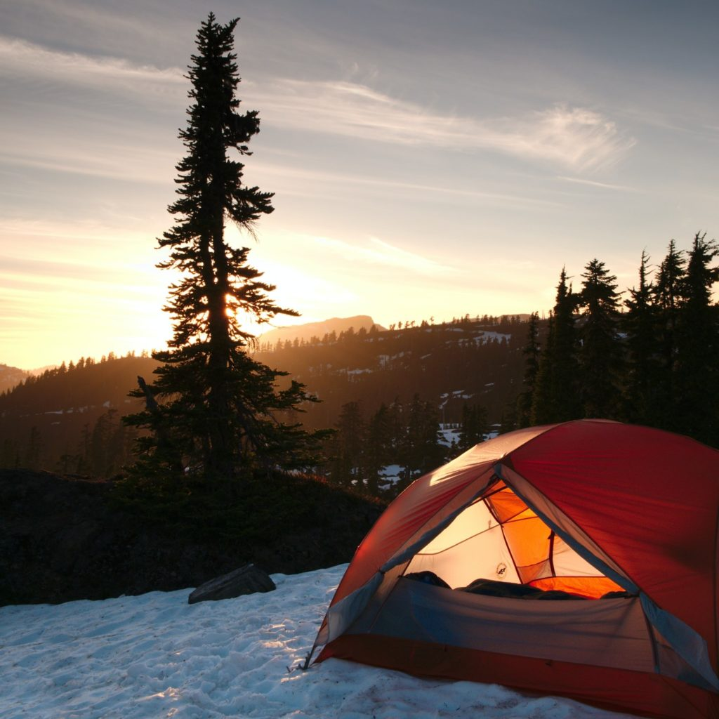 insulated winter tent