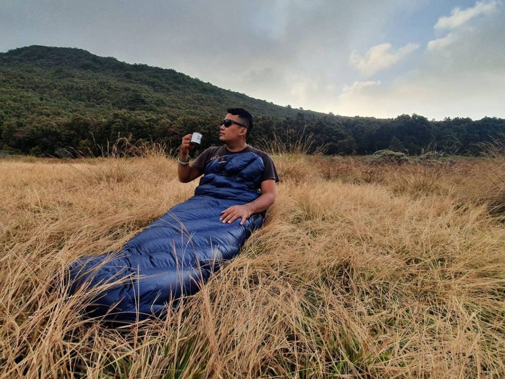 Raptor rectangular sleeping bag